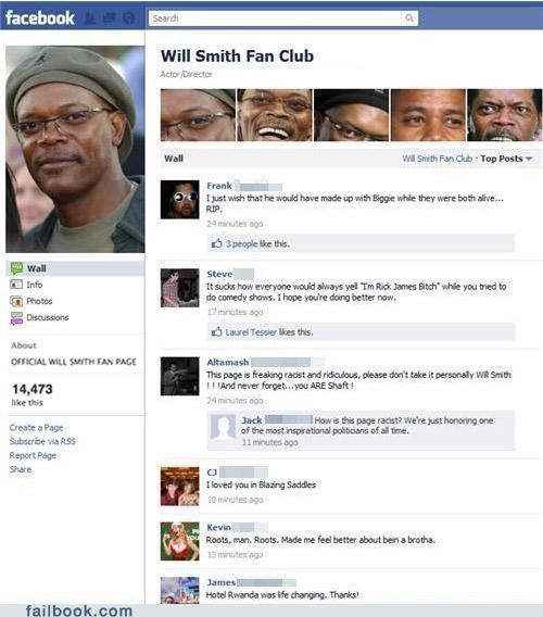 facebook page,not what it looks like,Samuel L Jackson,sarcasm,will smith,win