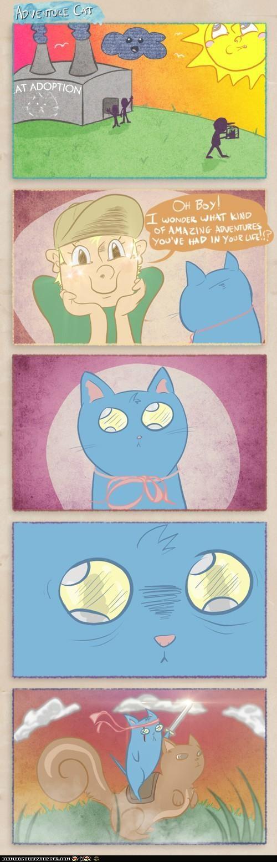 adoption adventure adventure cat comic comics - 5233912576
