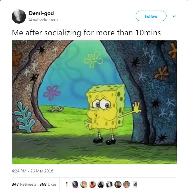 tired SpongeBob SquarePants Memes viral - 5233925