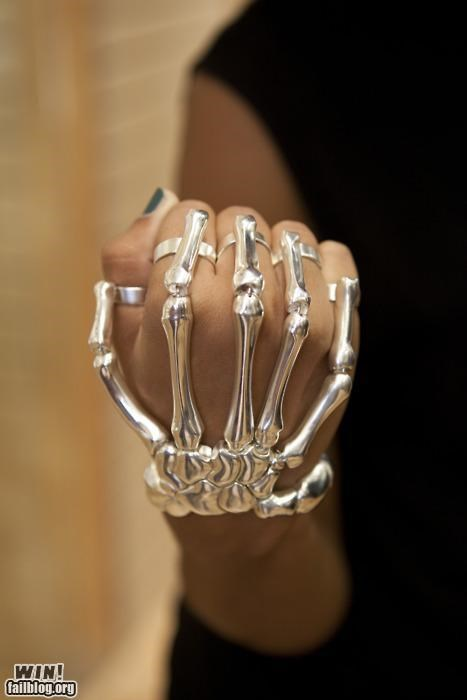 accessory bracelet fashion skeleton skull