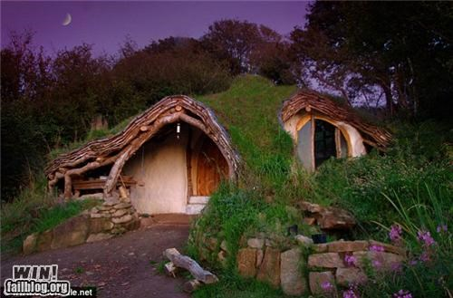 design DIY Hall of Fame hobbits home house Lord of the Rings nerdgasm - 5234086656