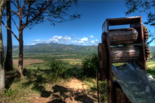 antique caribbean caribbean island cuba getaways landscape mountains sugarcane sugarcane mill - 5234128128