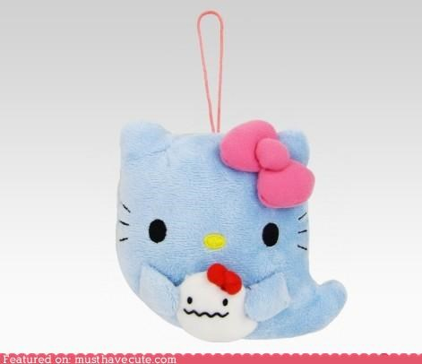 ghost,hello kitty,Plush,toy