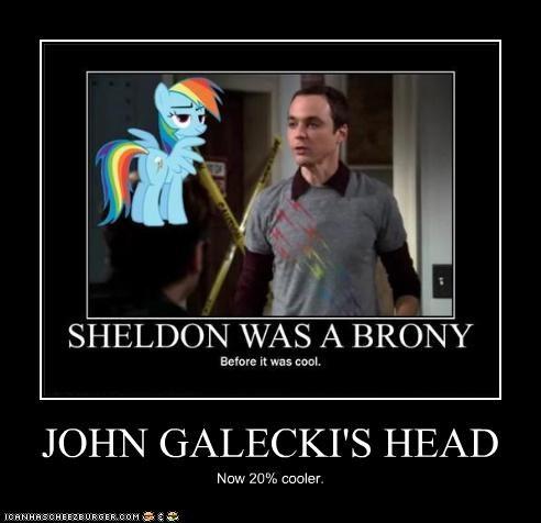 JOHN GALECKI'S HEAD