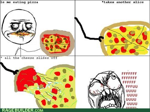 cheese FAIL me gusta pizza Rage Comics - 5234174976