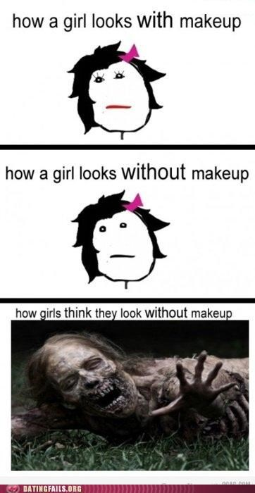 comic,makeup,rage comic,We Are Dating