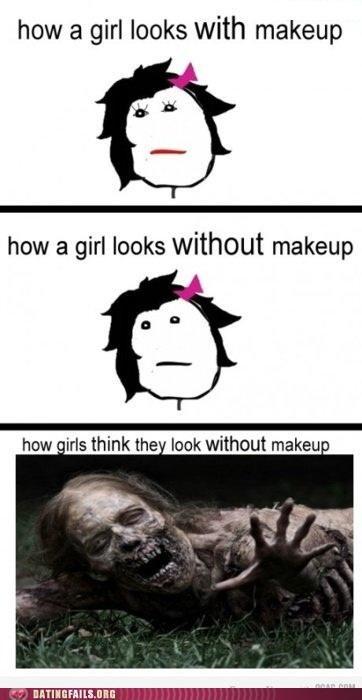 comic makeup rage comic We Are Dating - 5234296576