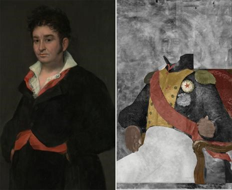 art,goya,hidden painting,Nerd News,Tech,x ray