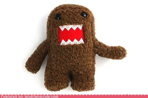 Awkward braces domo Plush - 5234581760