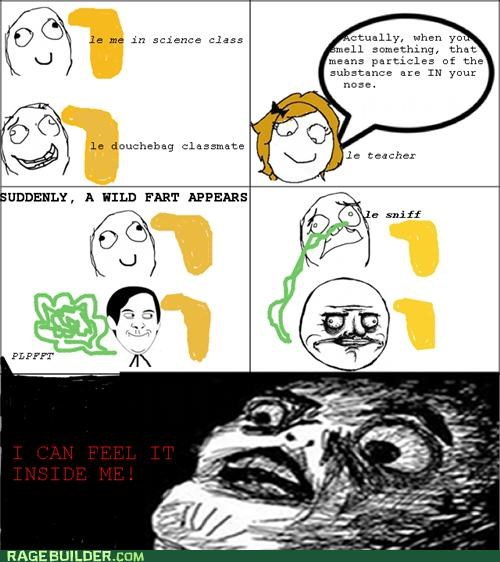fart,gross,Rage Comics,smell