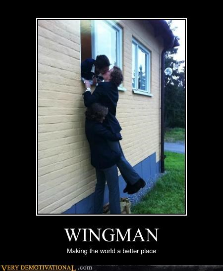 hilarious kissing makeouts wingman - 5234708992