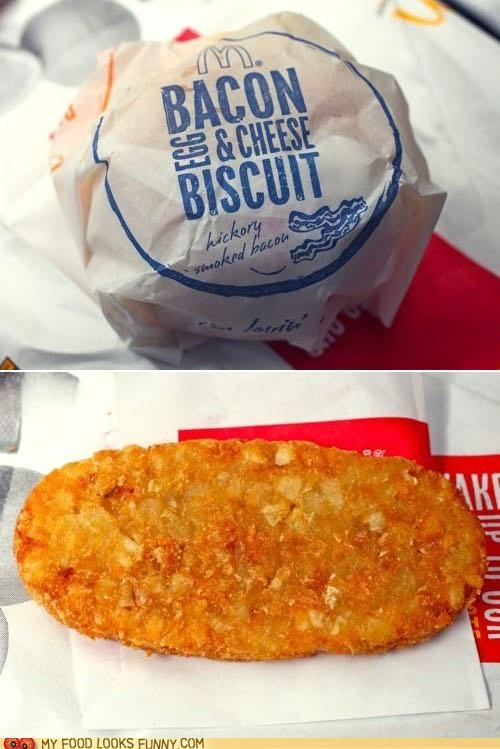breakfast delicious genius hashbrowns McDonald's sandwich - 5234846720
