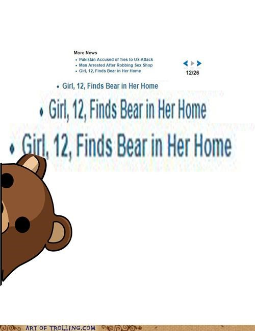 bear,home,pedobear