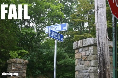 failboat g rated intersections road signs street tax dollars at work - 5235311616