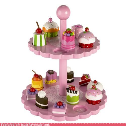 best of the week desserts game learning toys wooden - 5235969280