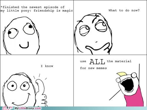 all the episodes comics meme ponies Rage Comics - 5236145408