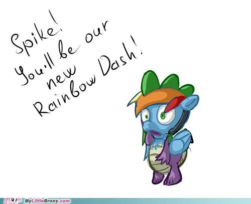 loyalty meme Okay rainbow dash spike - 5236249344