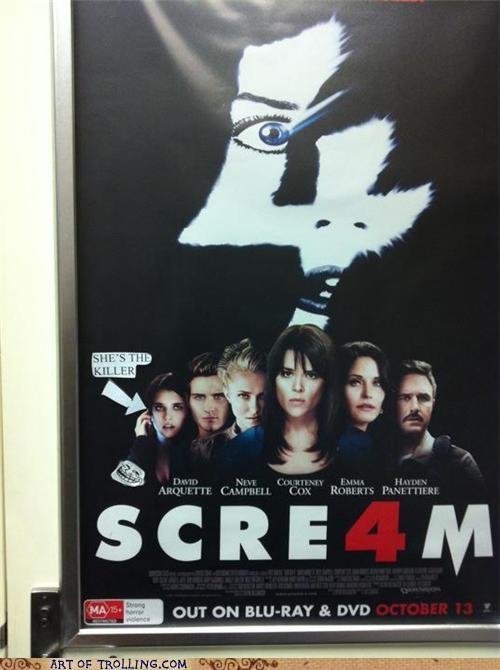 IRL killer scream spoiler - 5236525312