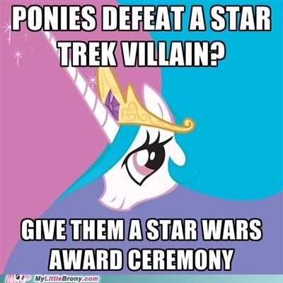 best of week meme ponies Star Trek star wars trollestia - 5236555776