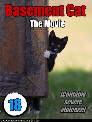 Basement Cat The Movie [Contains severe violence] 18