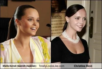 actress actresses christina ricci Hall of Fame musicians shaila durcal Spain spanish