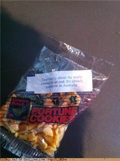 australia end of the world fortune cookie IRL - 5237424640