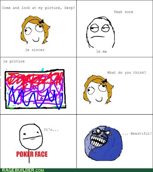 art,drawing,i lied,Rage Comics