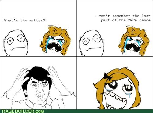 dance Rage Comics wtf ymca