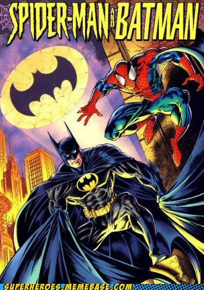 awesome batman crossover Spider-Man Straight off the Page wtf - 5238082048