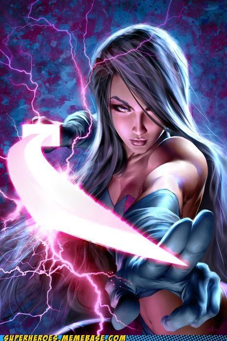 Awesome Art blade pysylocke Sexy Ladies wtf - 5238123520