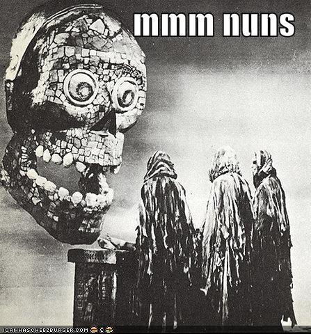 heads historic lols mmm nuns skeletons tasty wtf - 5238168064