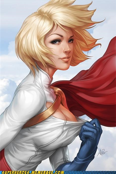 Awesome Art bewbs powergirl Sexy Ladies - 5238262528