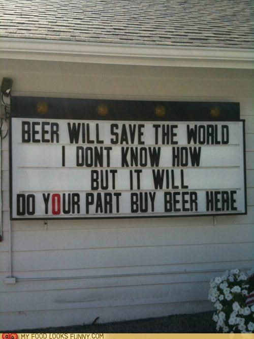 beer buy savior sign store - 5238603264
