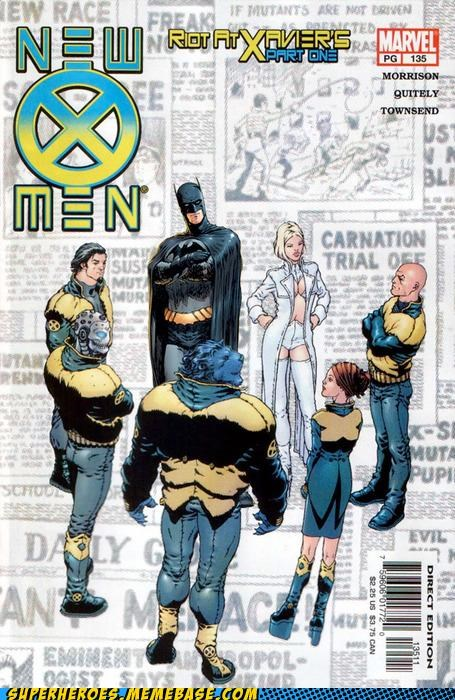 batman cover Straight off the Page wtf x men - 5238748672