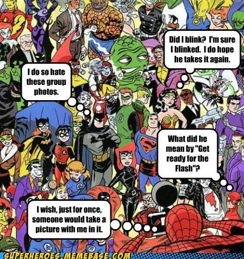 Awesome Art batman jumble photograph Spider-Man superman - 5238799104