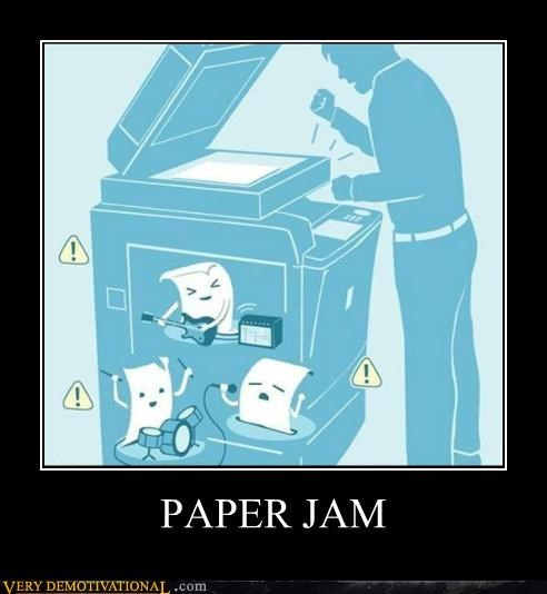 band,copier,hilarious,jam,Music,paper
