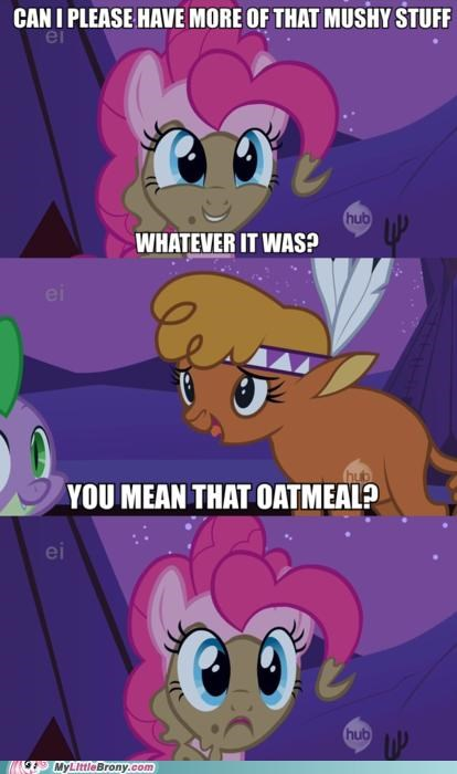 comics grains mushy stuff oatmeal pinkie pie - 5238983936