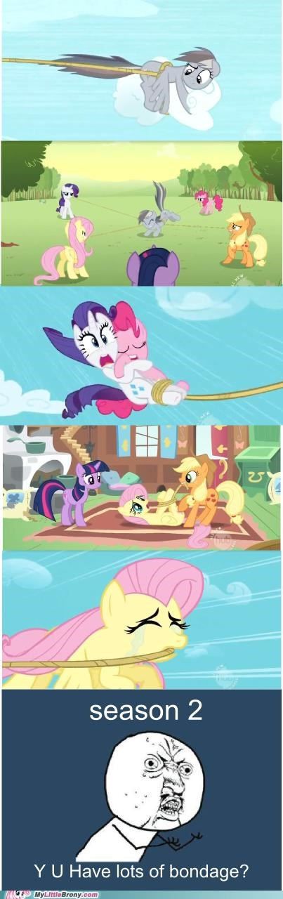 bondage comics mane six rainbow dash rope season 2 Y U NO - 5239140352