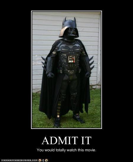 batman darth vader demotivational funny - 5240563712