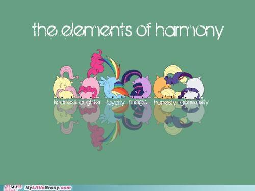 art cute elements of harmony mane six overcome all the odds - 5240692992