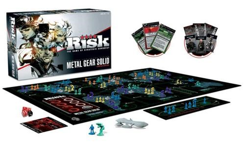 boardgames,merch,metal gear solid,risk,Videogames,Yoji Shinkawa