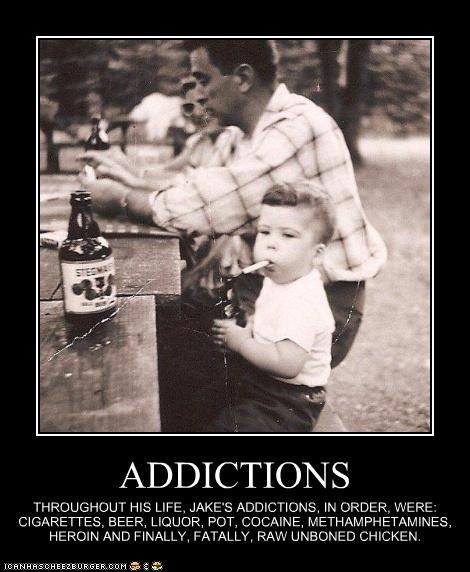 addiction,chicken,Death,drugs,historic lols,kids,smoking,wtf