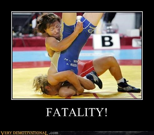 fatality Mortal Kombat Pure Awesome wrestling - 5241391360