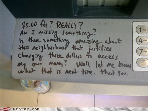 ATM bank fee - 5241548032