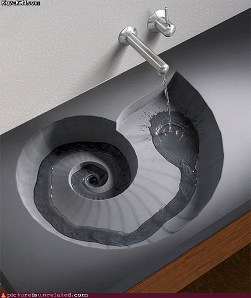 best of week,fibonacci,sink,spiral,water,wtf