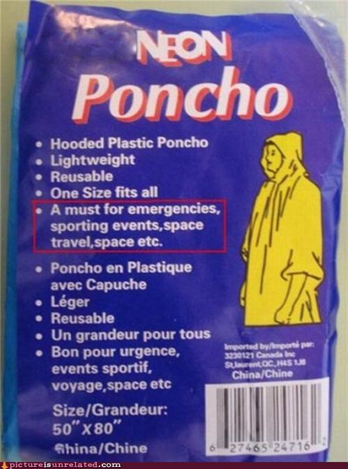 emergency neon poncho wtf - 5241684480