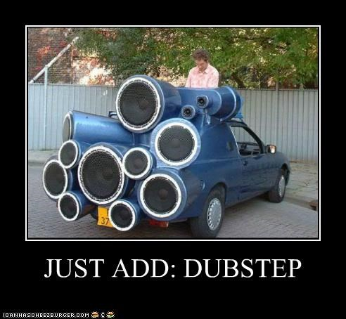 cars,dubstep,epic,Music,speakers,stereos,wtf