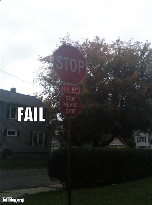 failboat g rated oddly specific road signs signs stop sign - 5242084864
