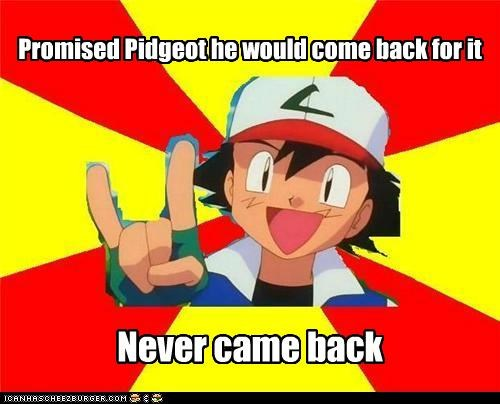 anime ash ashhole meme Memes pidgeot - 5242186240