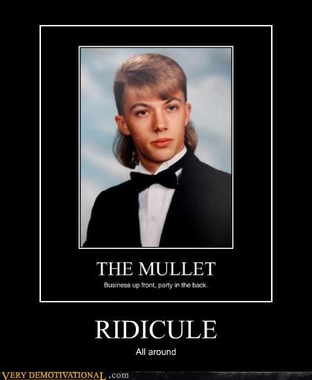 hair hilarious mullet ridicule - 5242374912